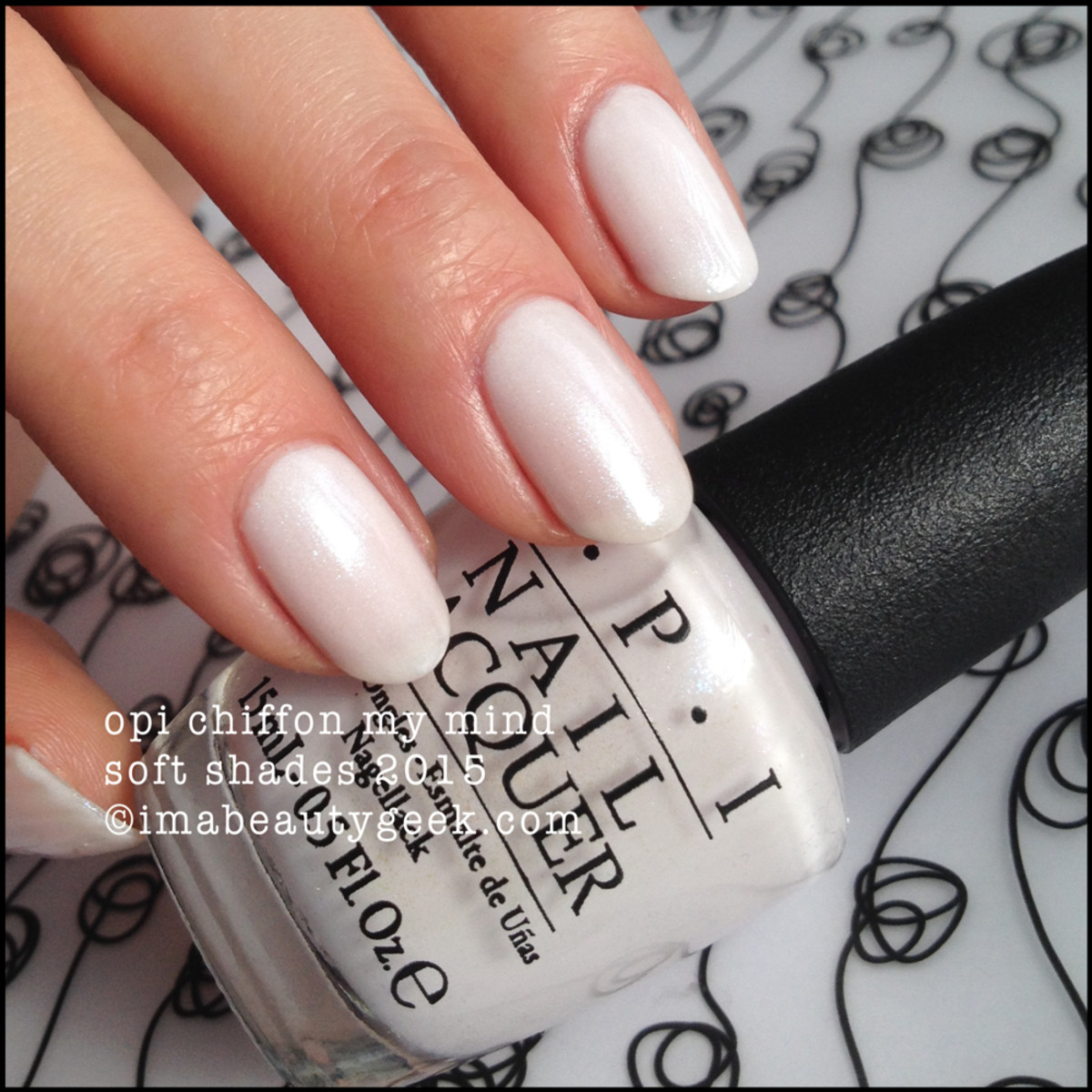 OPI Chiffon My Mind OPI Soft Shades 2015