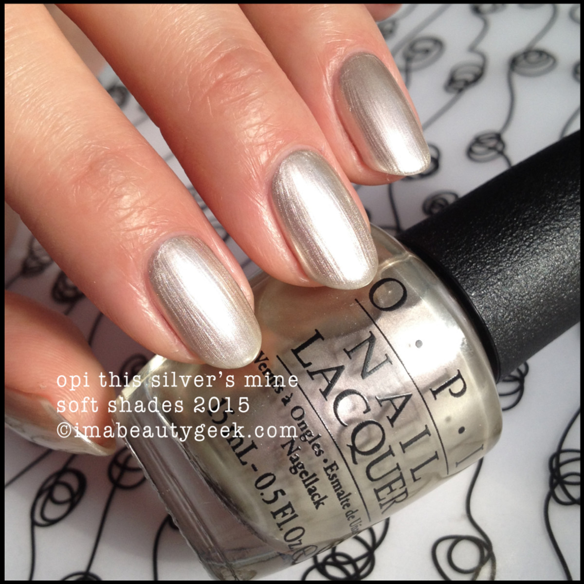 OPI Soft Shades 2015 This Silver's Mine