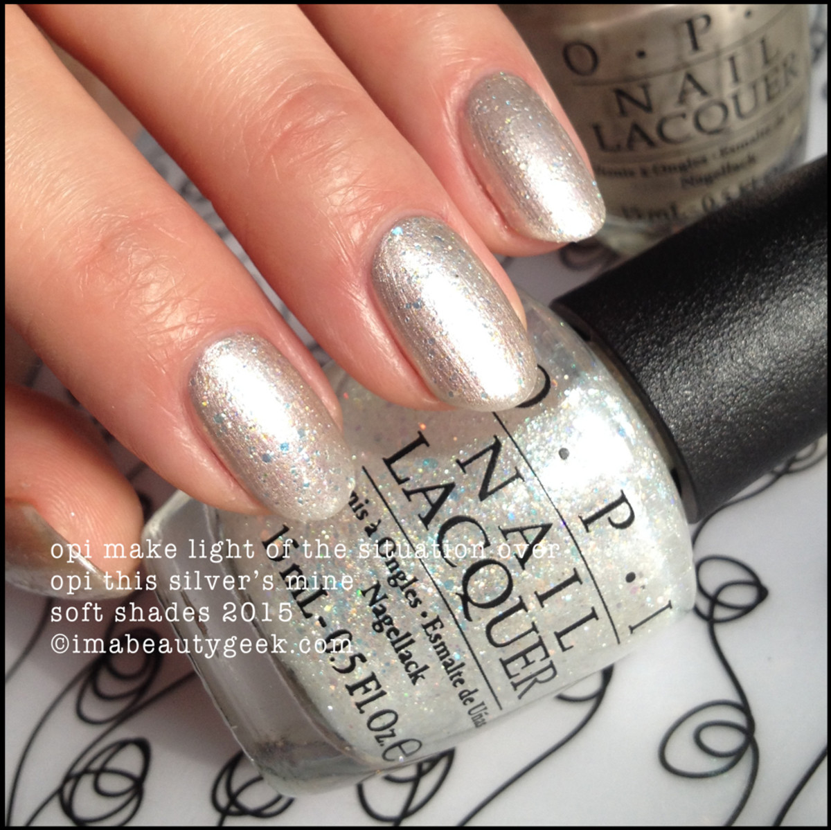 OPI Make Light of the Situation over OPI This Silver's Mine 2015