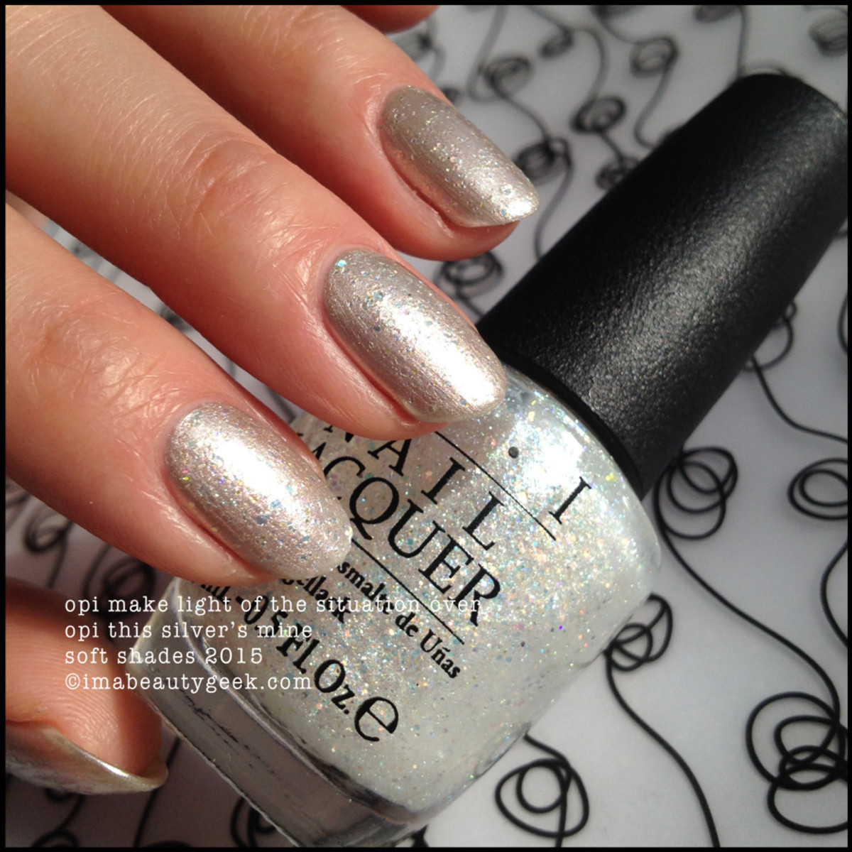 OPI Soft Shades 2015 Make Light of the Situation over This Silvers