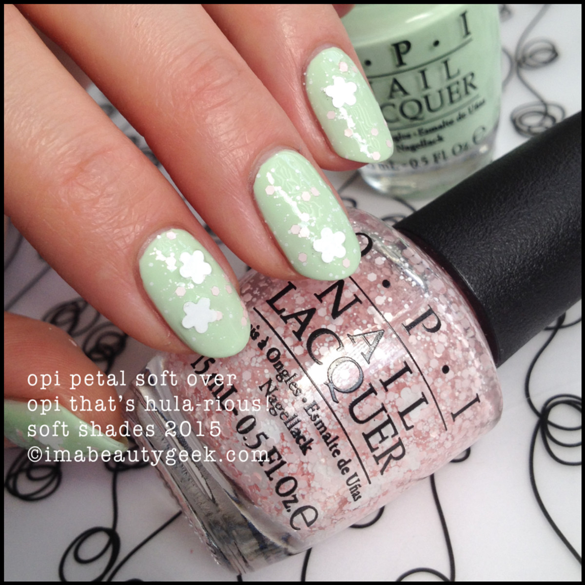 OPI Petal Soft over That's Hula-rious OPI Soft Shades 2015