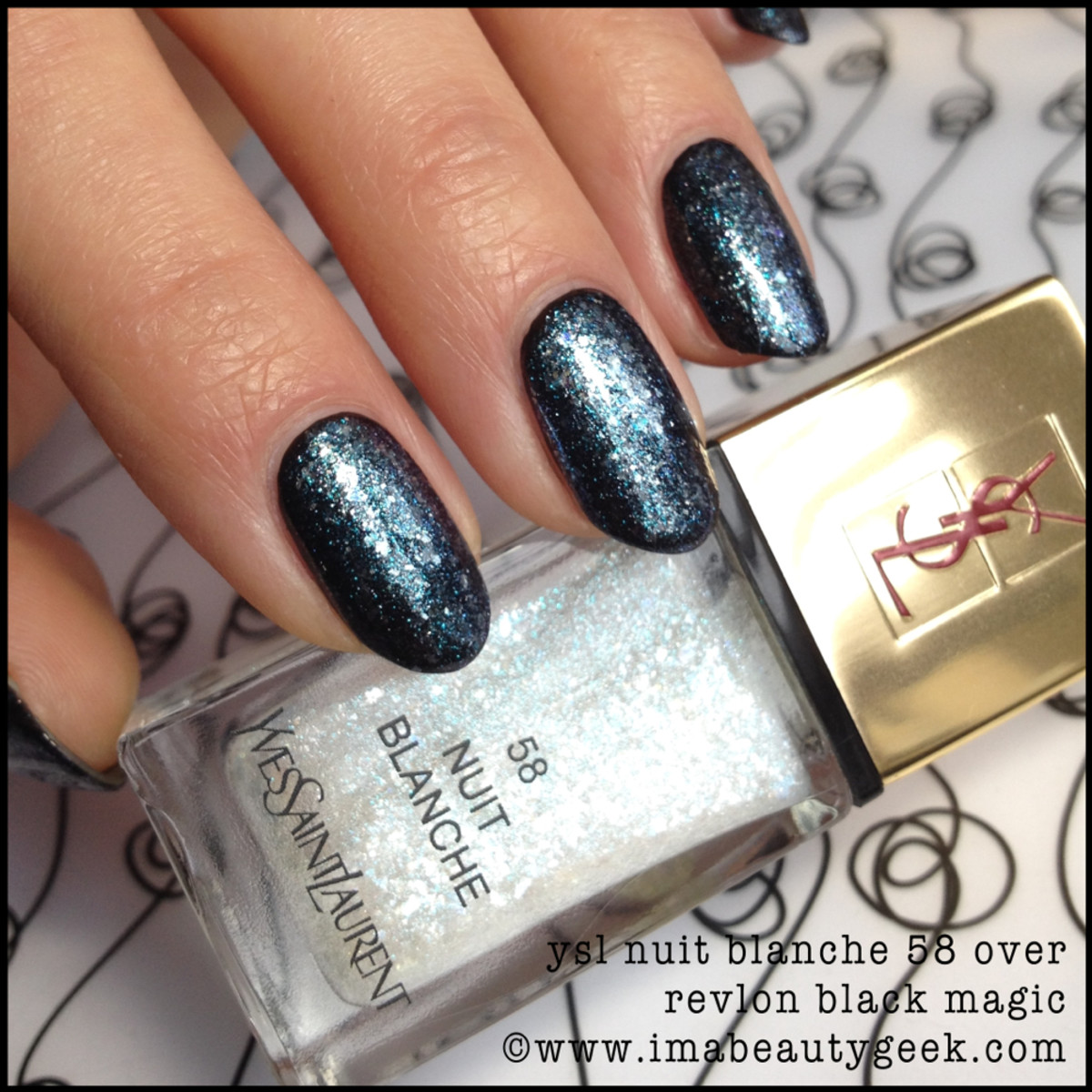 YSL Nuit Blanche 58 Vernis