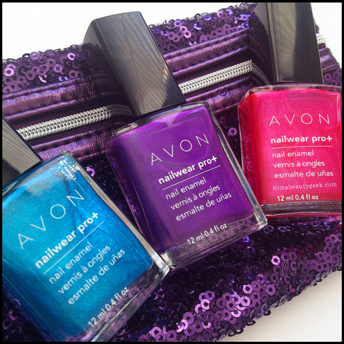 Avon Electric Shades Nailwear Pro April 2015