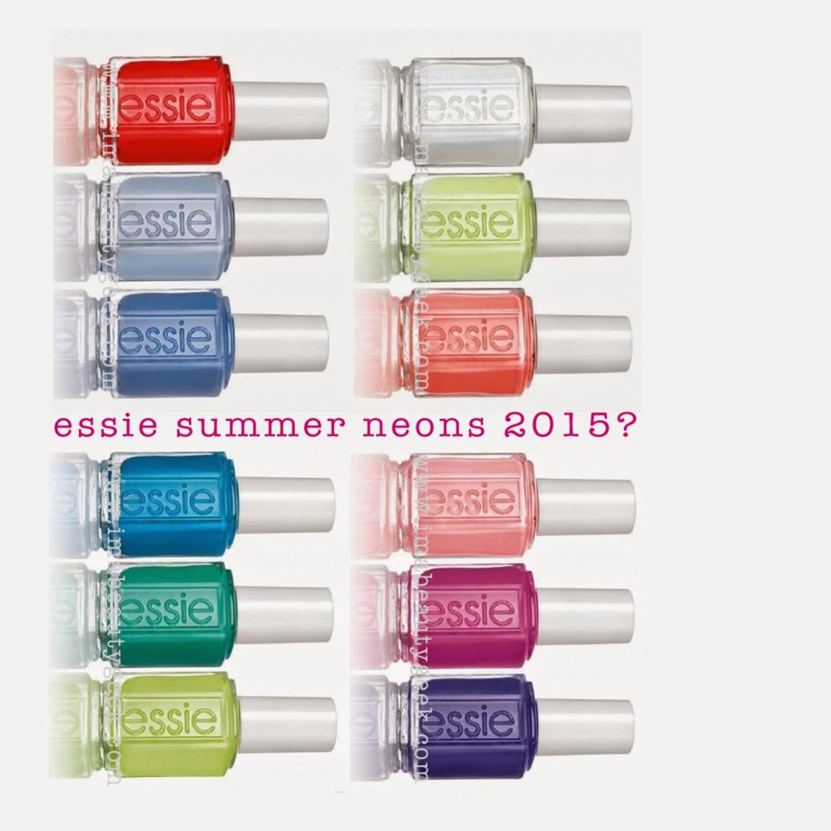 Essie Summer 2015 Neons
