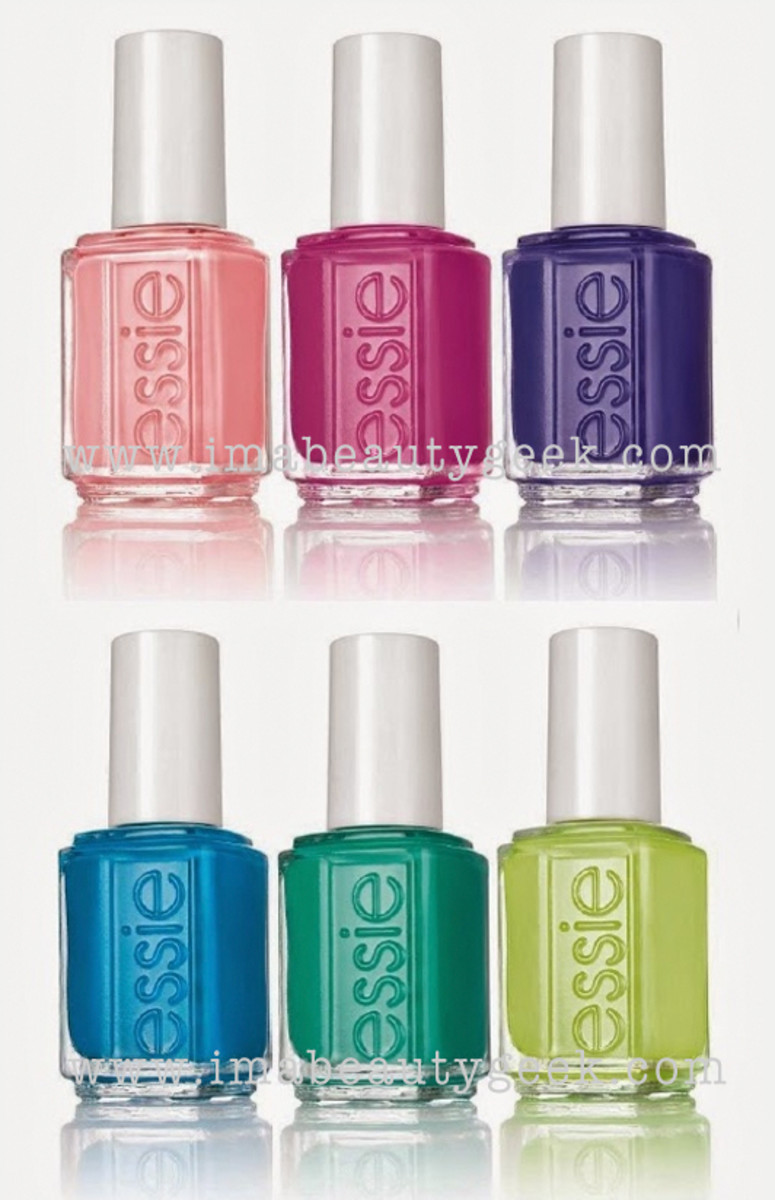 Essie Neons 2015 Collection Maybe