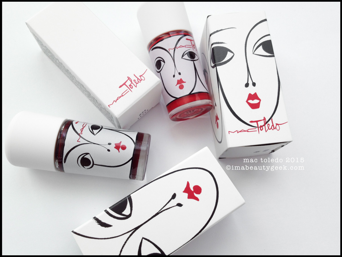 MAC Toldeo Vixen and Venus Red Nail 2015