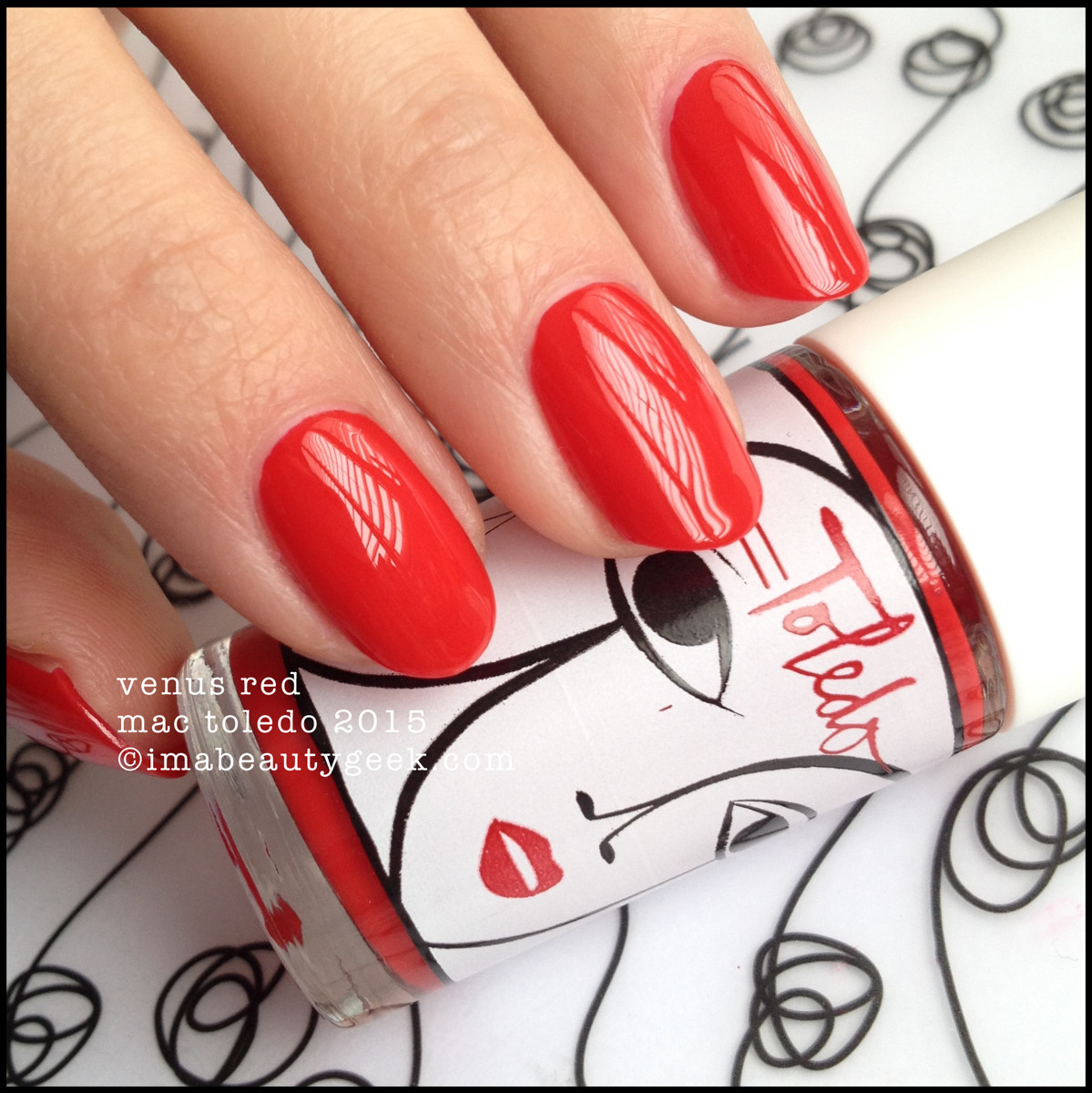 MAC Toledo Venus Red Nail 2015