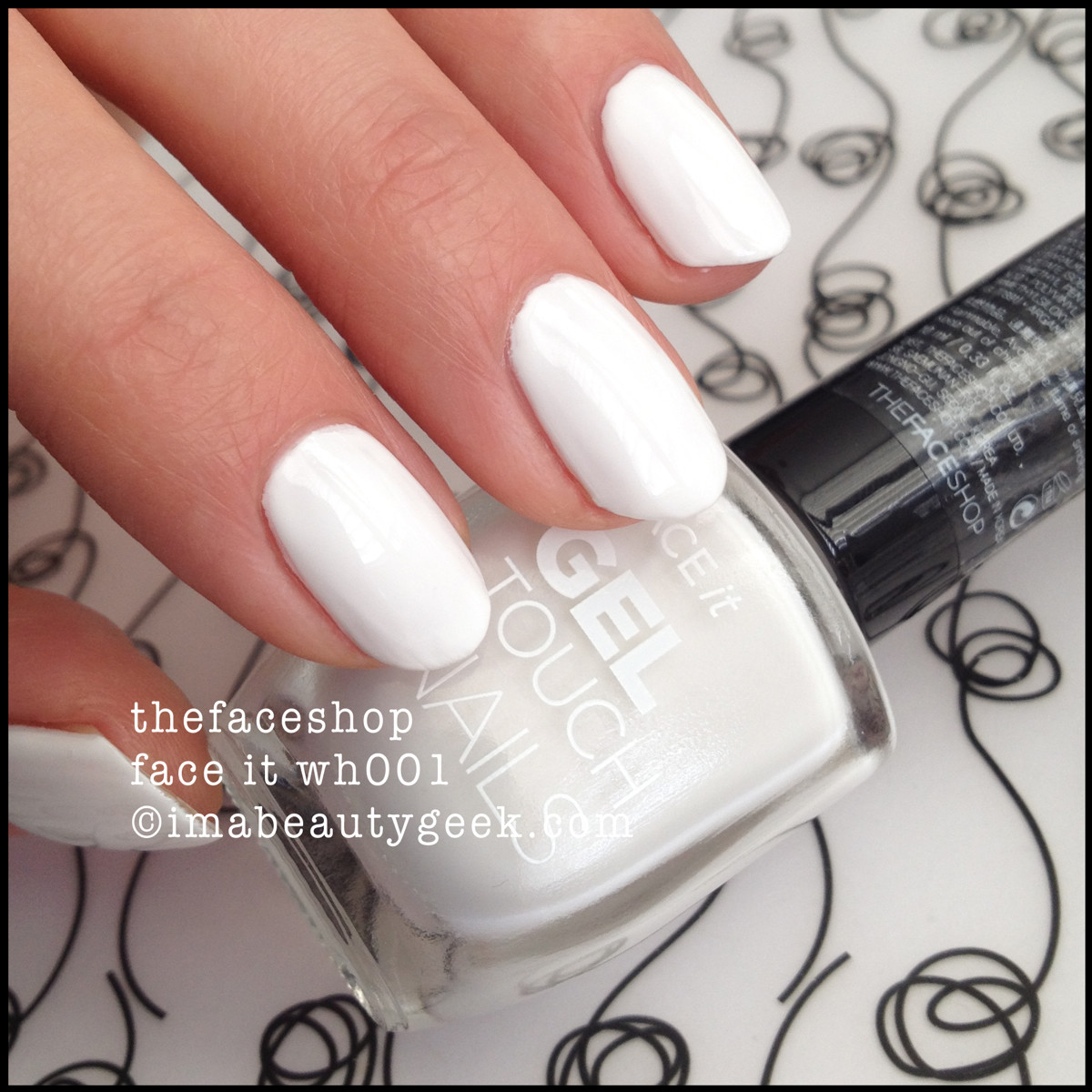 The Face Shop Face It Gel Touch nails wh001