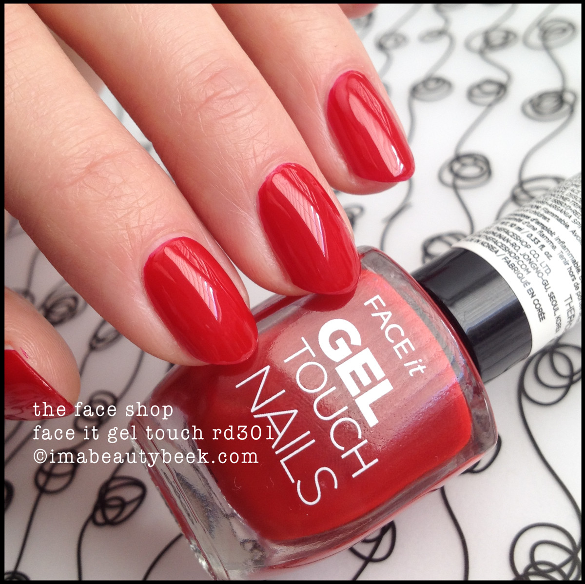The Face Shop FaceIt Gel Touch rd301 Nail Polish
