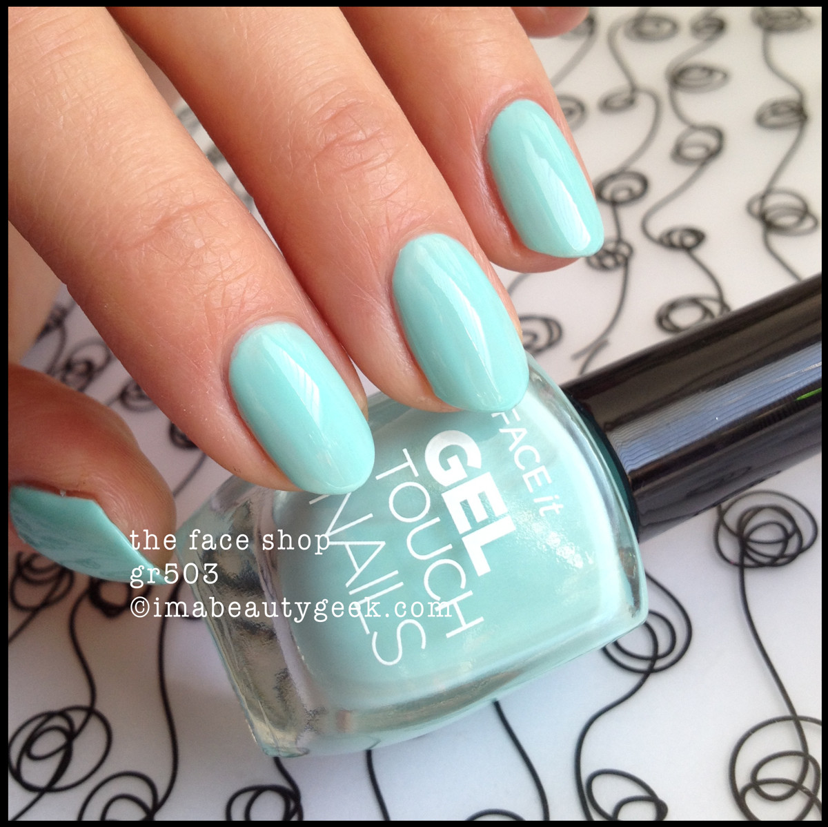The Face Shop Face It Gel Touch Nails gr503