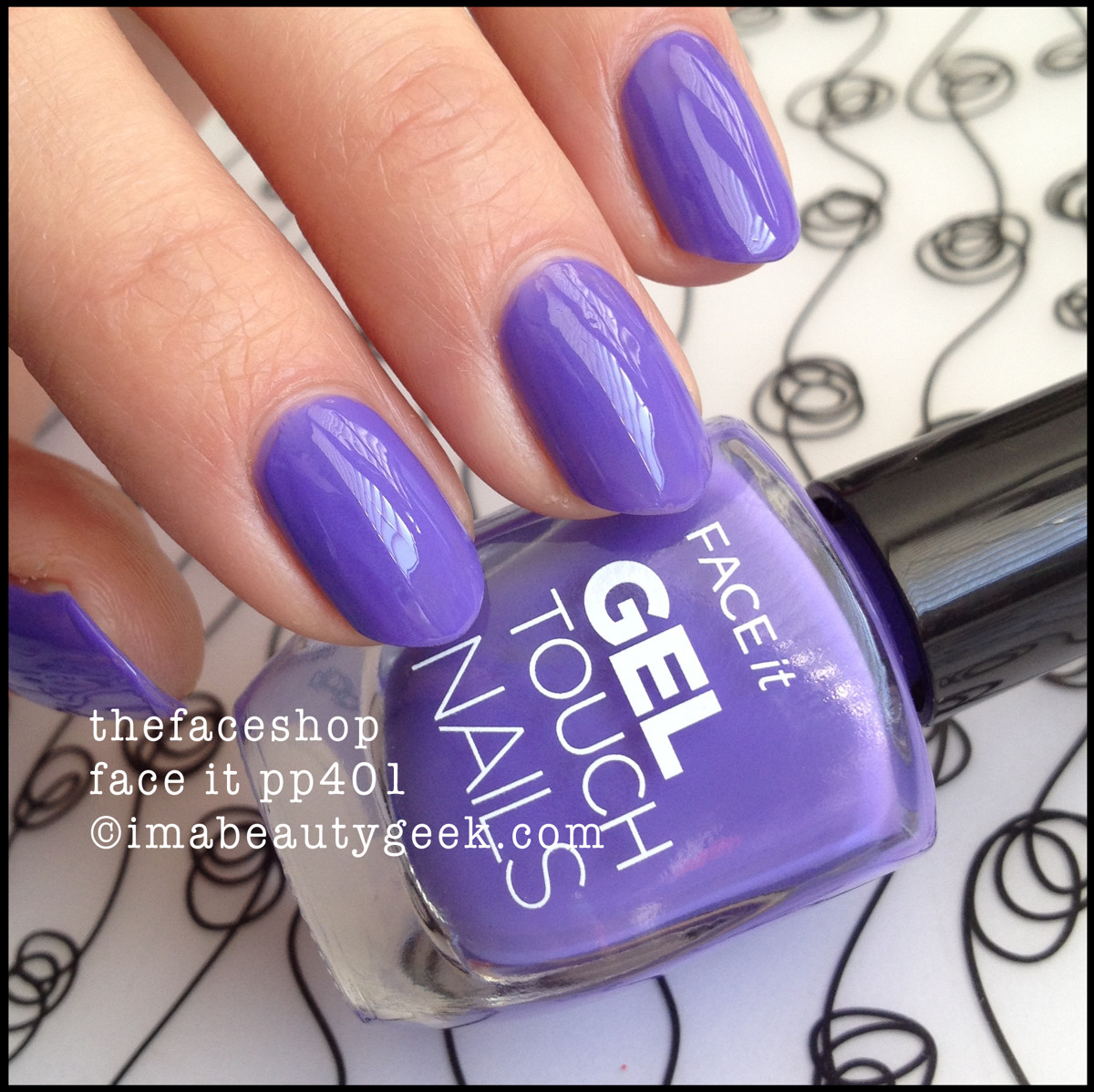 The Face Shop Face It Nail Polish pp401