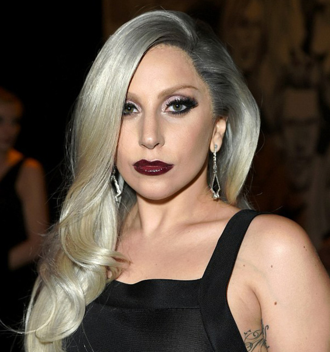 Lady Gaga exact lip colour at the Vanity Fair 2015 Oscars party