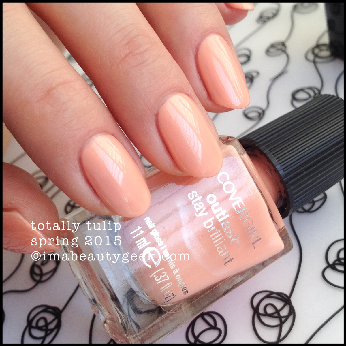 CoverGirl Nails Spring 2015_CoverGirl Totally Tulip Outlast