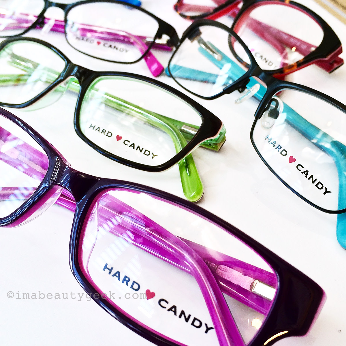Hard Candy eyewear -- fun frames, readers and sunglasses too
