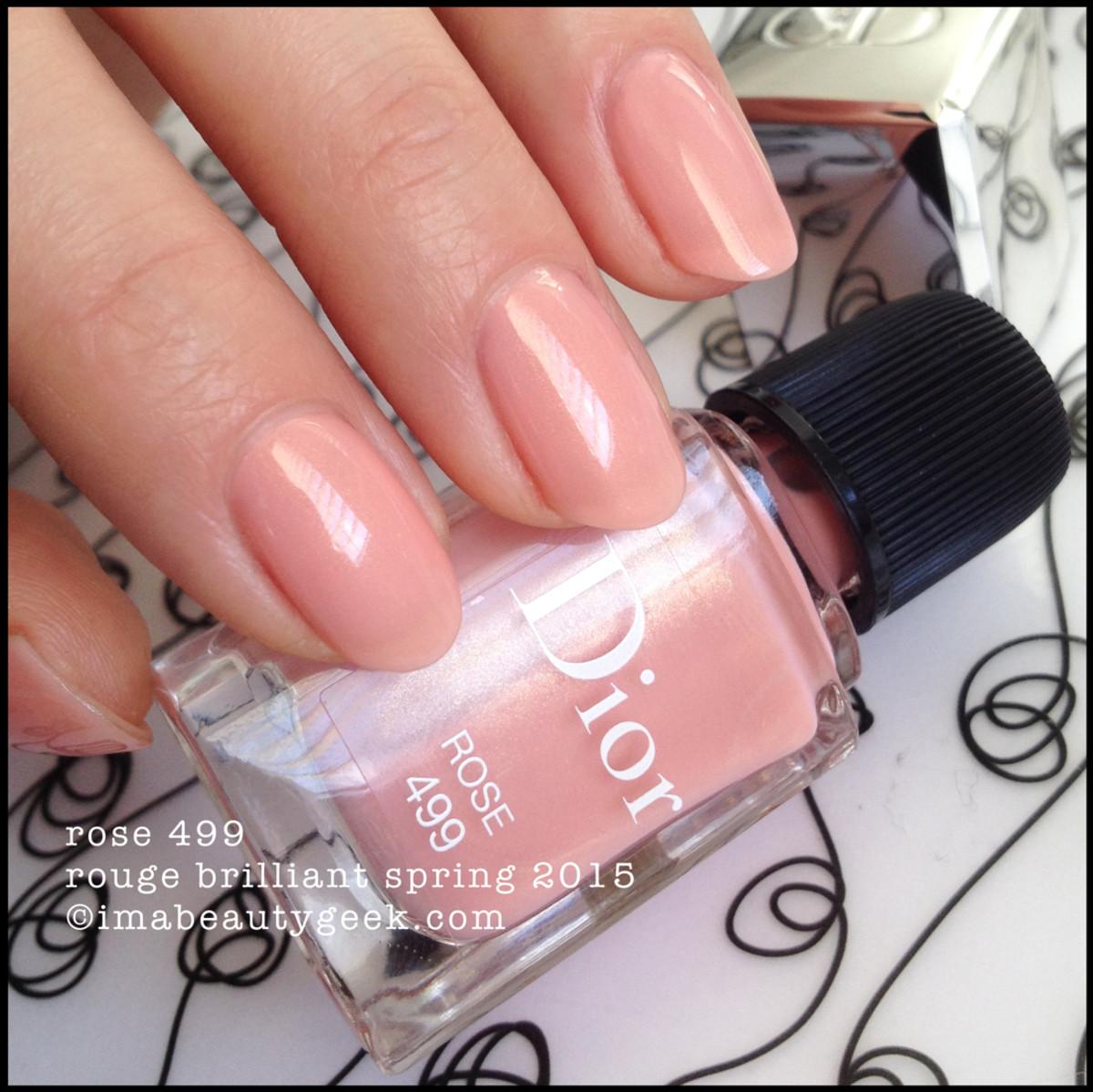 Dior Rouge Brilliant Vernis Spring 2015_Dior Rose 499
