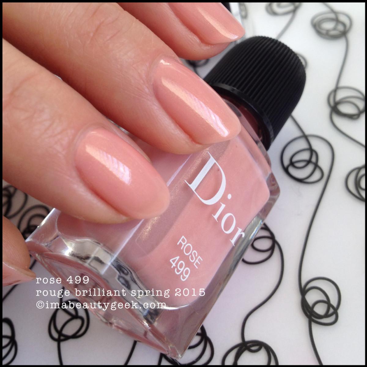 Dior Rouge Brilliant 2015_Dior Vernis Rose 499_2