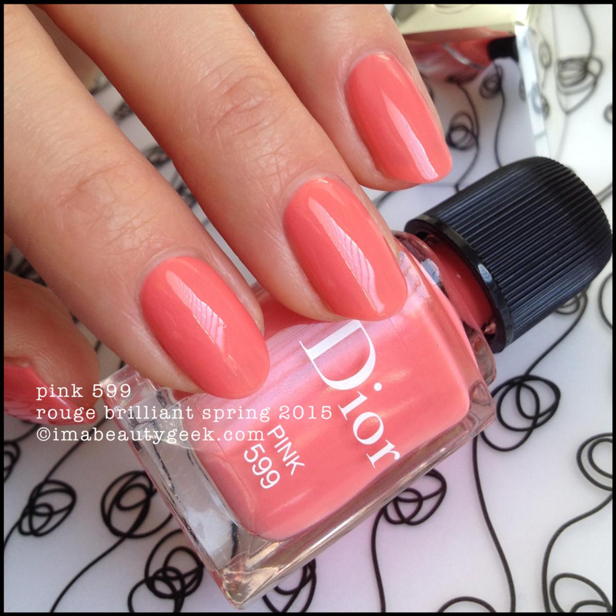 Dior Rouge Brilliant Spring 2015_Dior Pink 599 Vernis