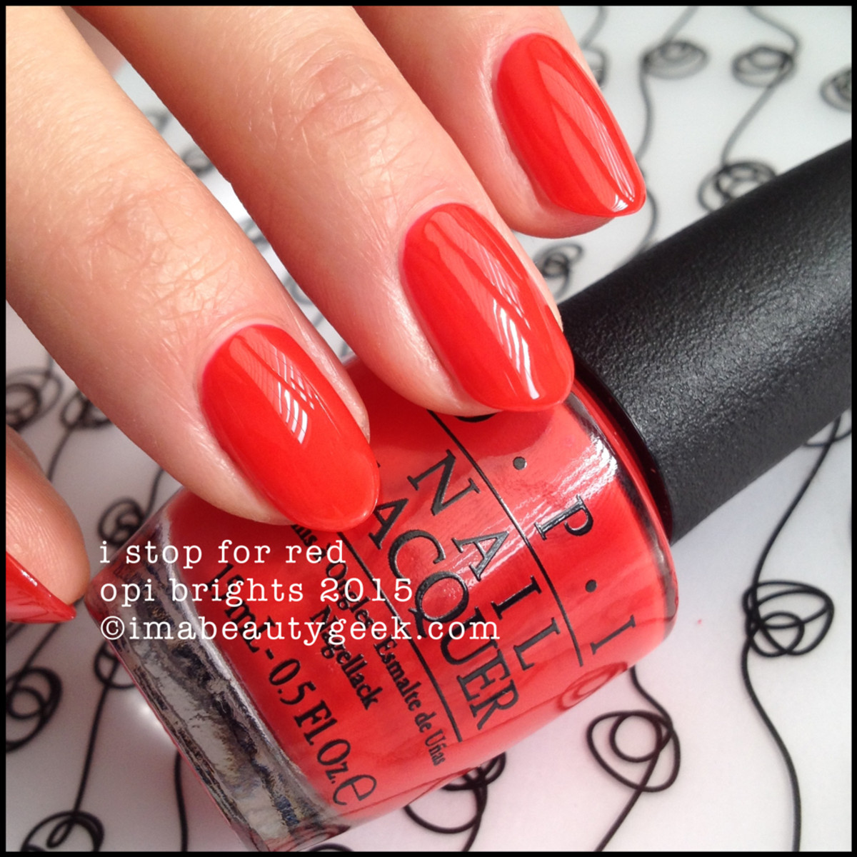 OPI Brights 2015_OPI I Stop For Red