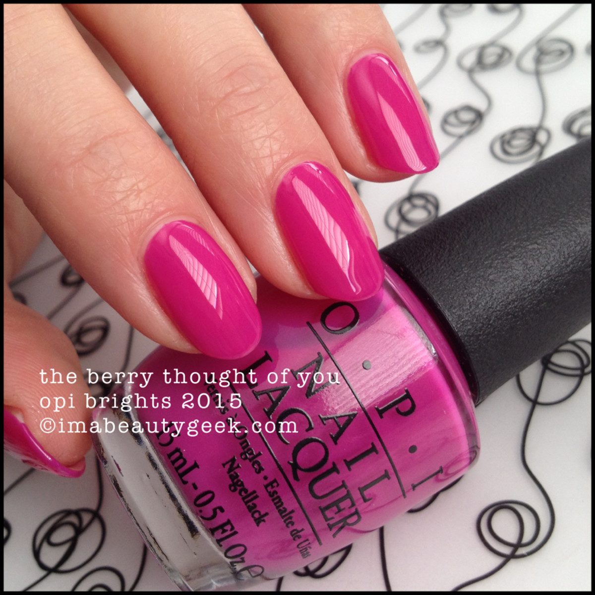 OPI Brights 2015_OPI The Berry Thought of You_1