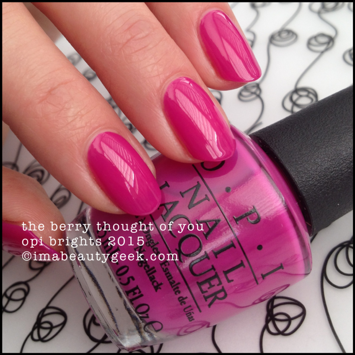 OPI Brights 2015_OPI The Berry Thought of You_2