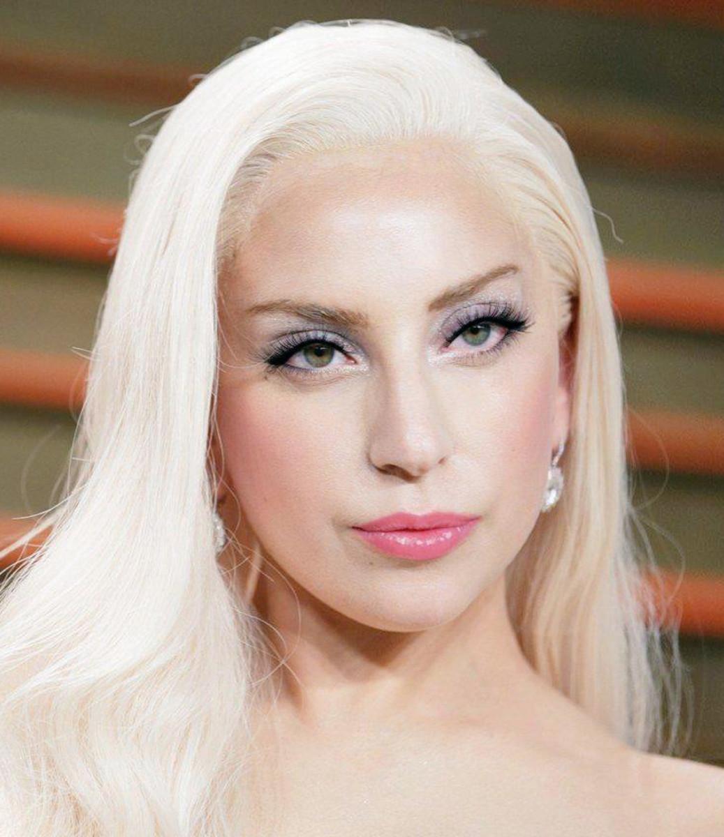 Lady Gaga Vanity Fair Oscars 2014?