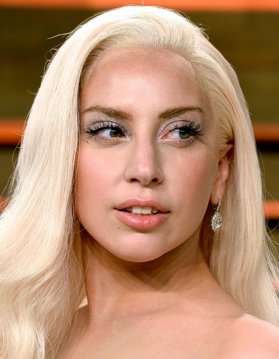 Lady Gaga Vanity Fair Oscars 2014 party