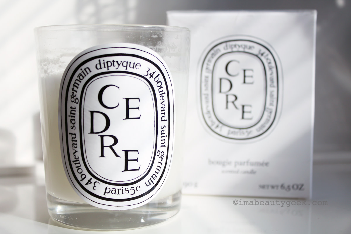 Not hoarding, it's stocking up_Diptyque Cedre candles discontinued