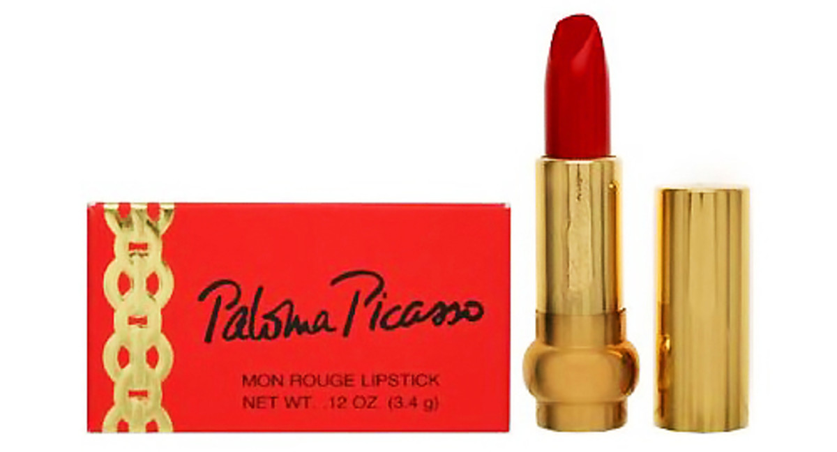 Paloma Picasso Mon Rouge Lipstick_she hoards these