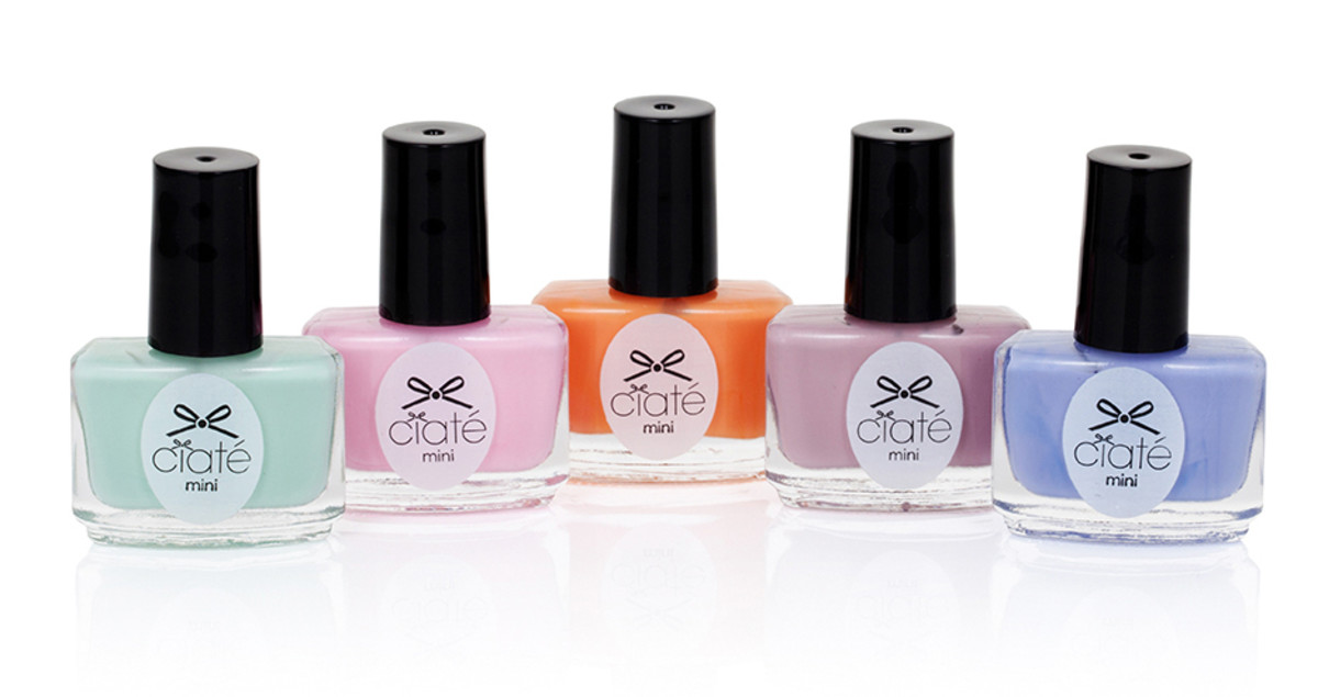 Limited Edition Ciate Ice Cream Collection 2015 - mini paint pots
