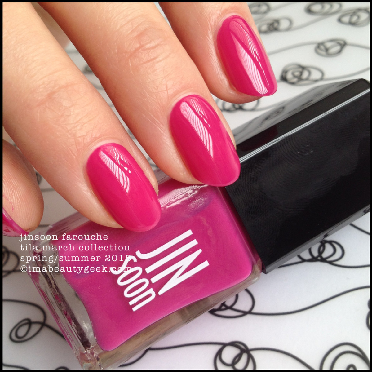 JinSoon Tila March Collection 2015_JinSoon Farouche Nail Polish