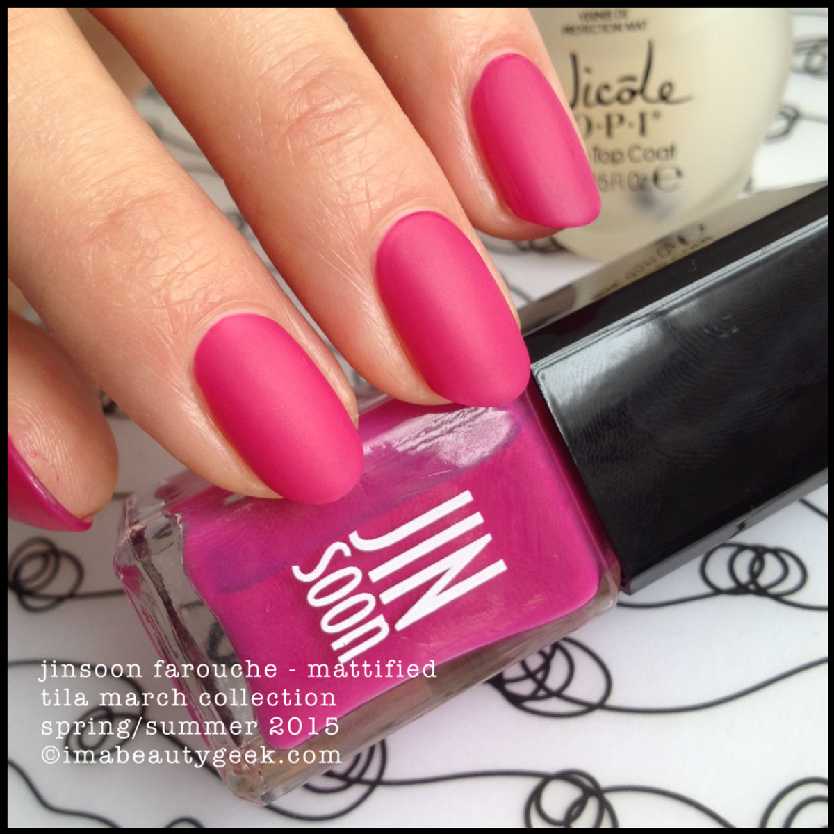 JinSoon Tila March Collection 2015_Jinsoon Farouche Matte Nail Polish