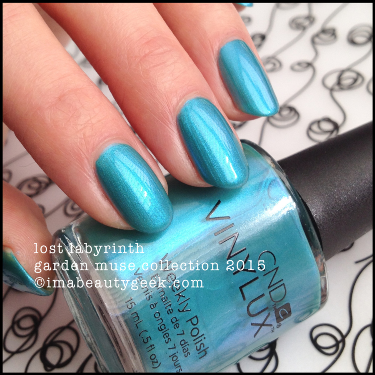 CND Garden Muse Collection 2015_Vinylux Lost Labyrinth