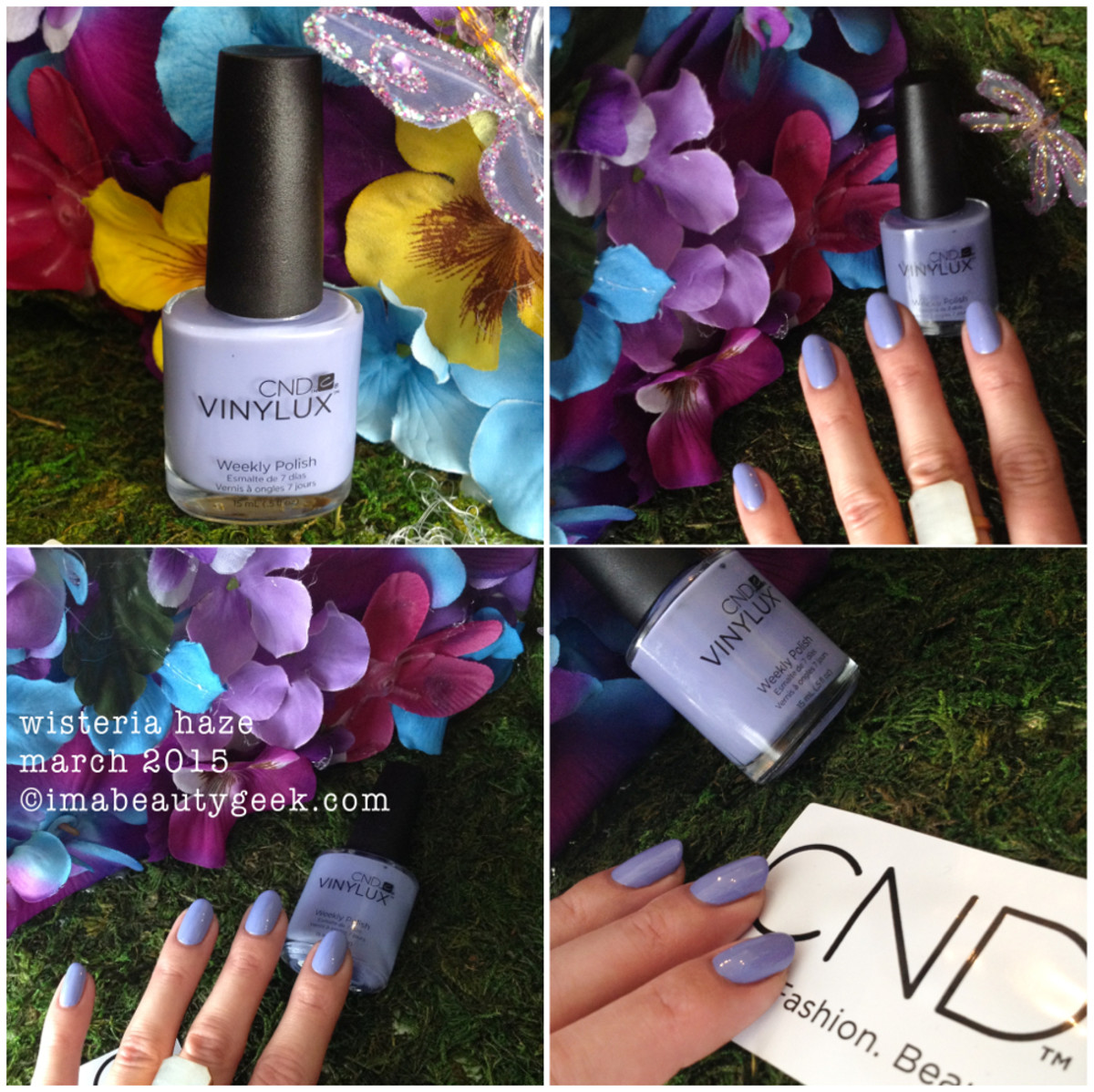 CND Vinylux Wisteria Haze_CND Garden Muse Collection 2015