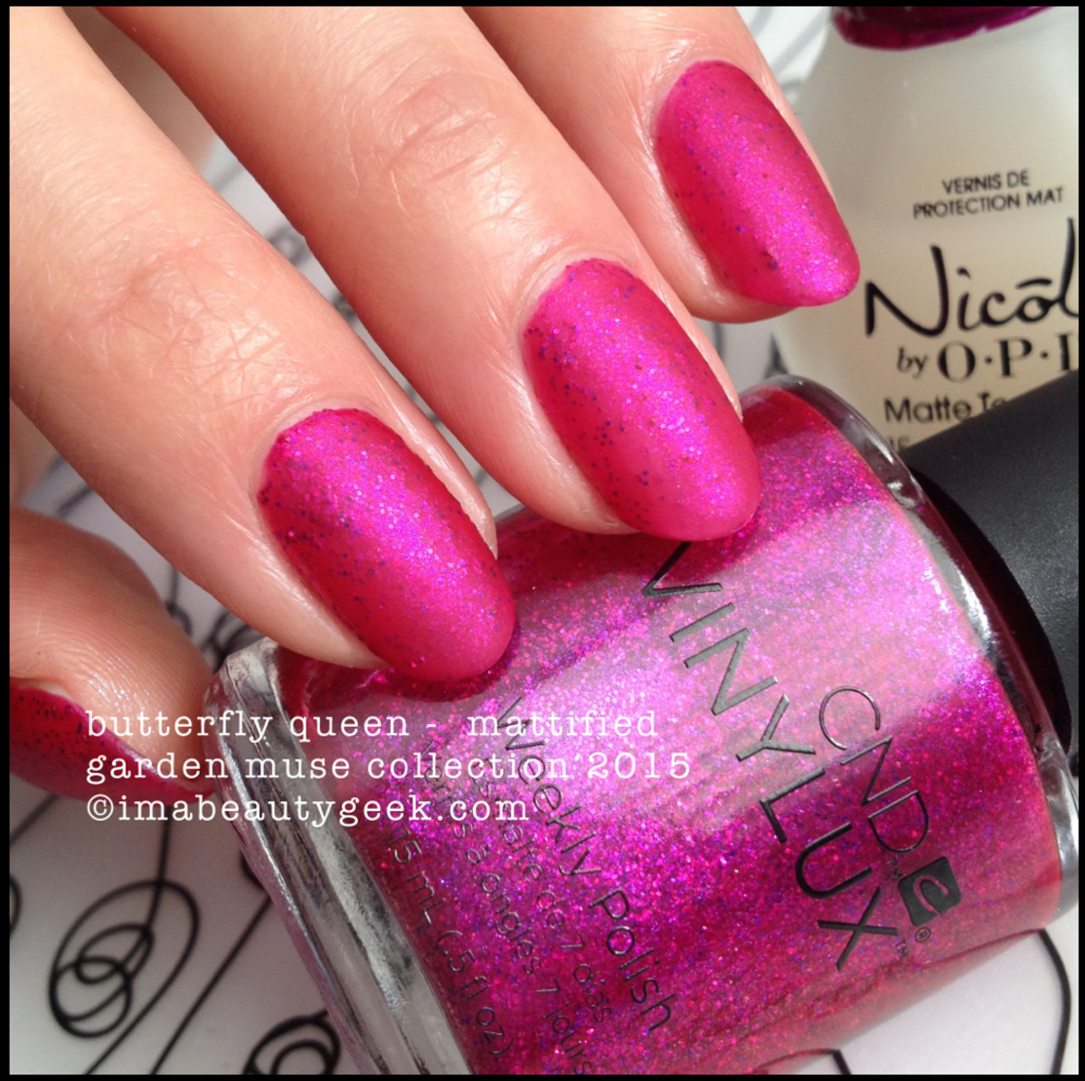CND Vinylux Butterfly Queen_Garden Muse Collection 2015