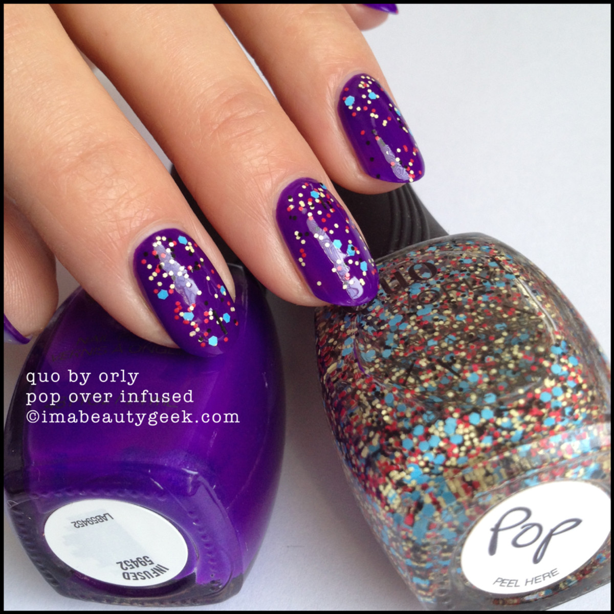 Quo by Orly Pop over Infused