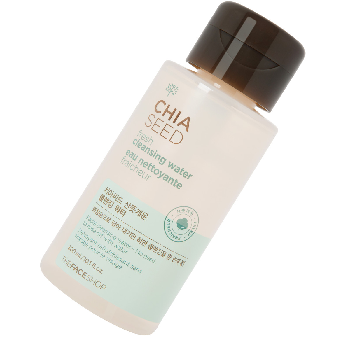 TheFaceShop Chia Seed Fresh Cleansing Water review: doesn't sting my eyes!