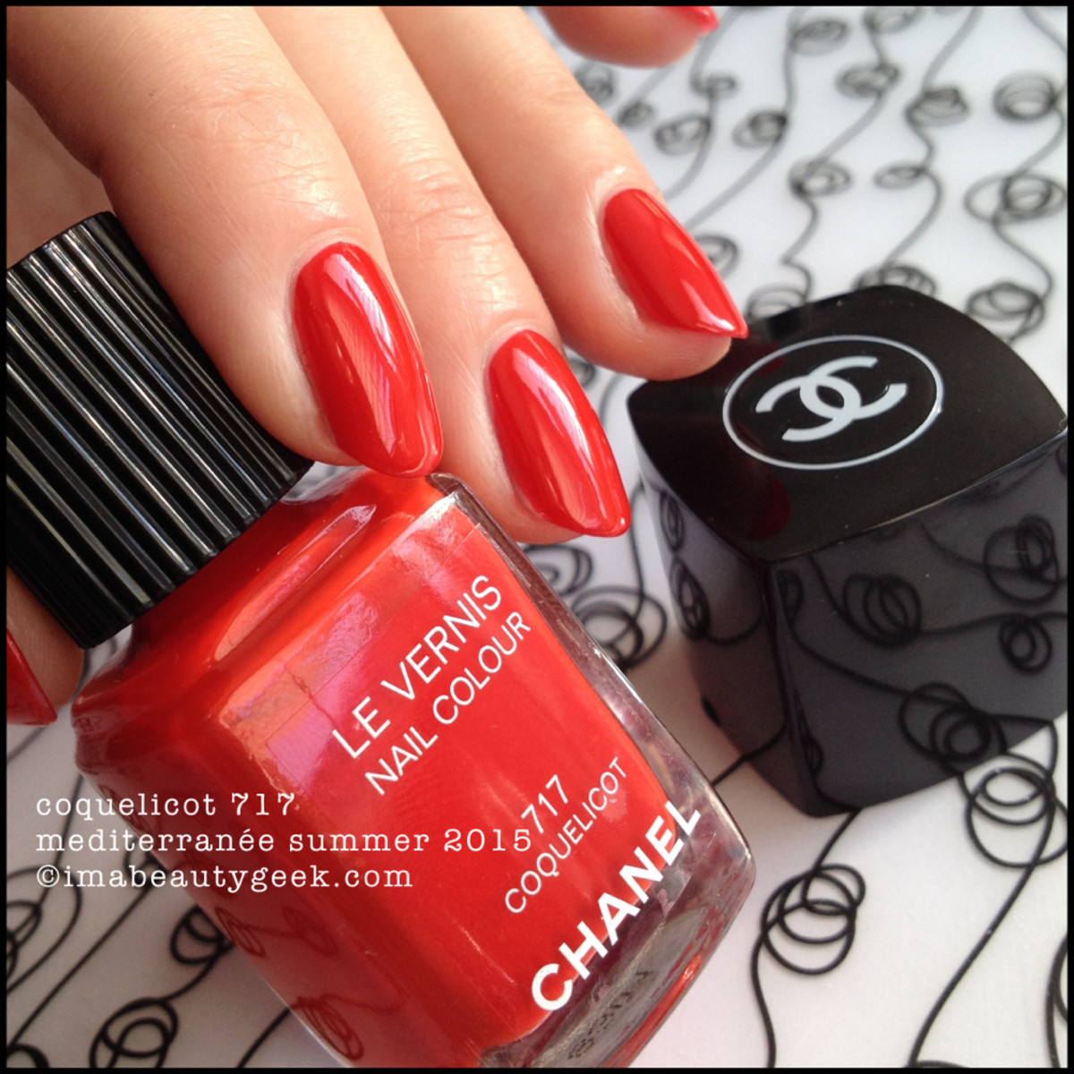 Chanel Mediterranee Collection Coquelicot 717 Swatch