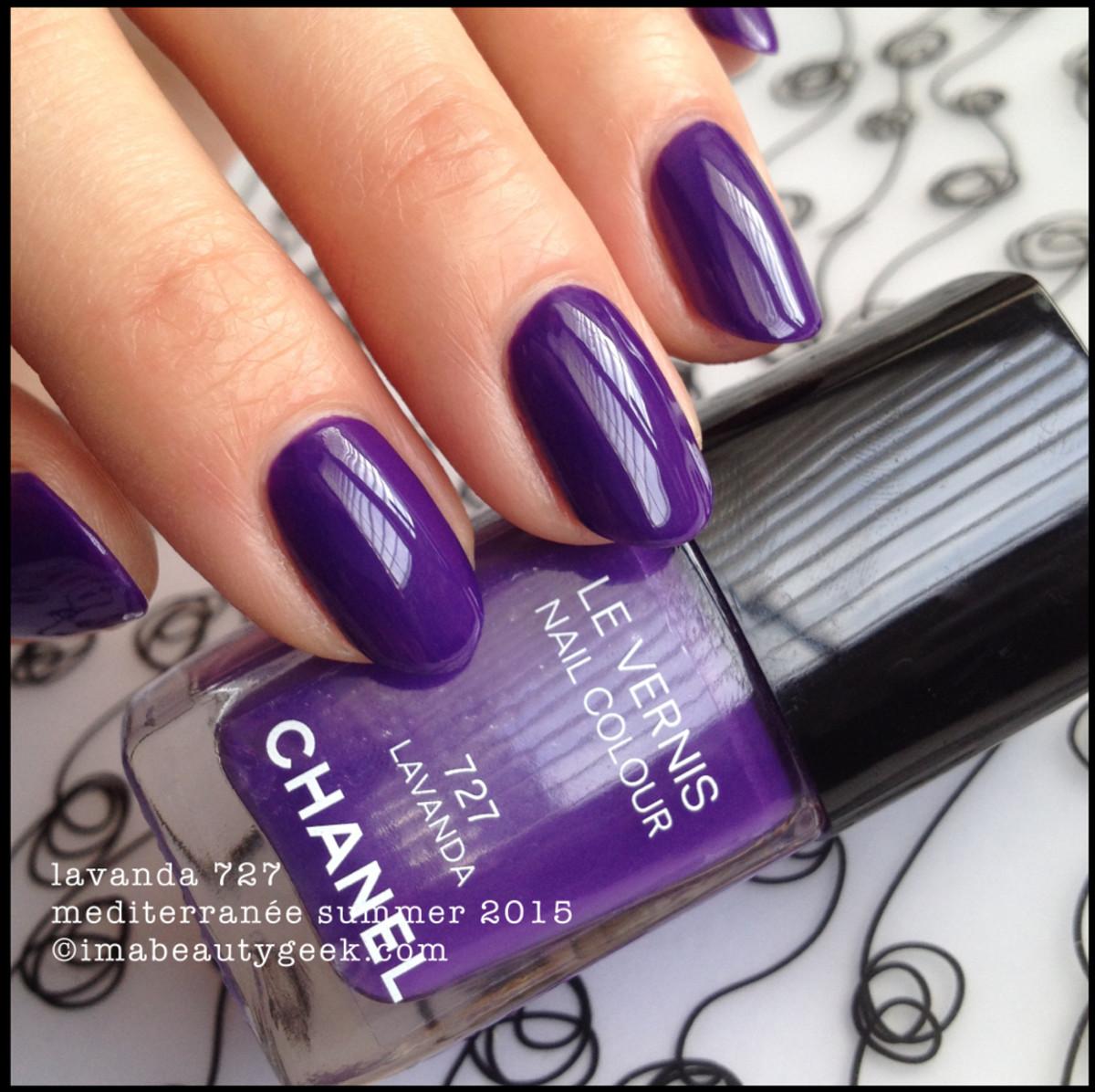 Chanel Mediterranee Summer 2015_Chanel Lavanda 727 Le Vernis