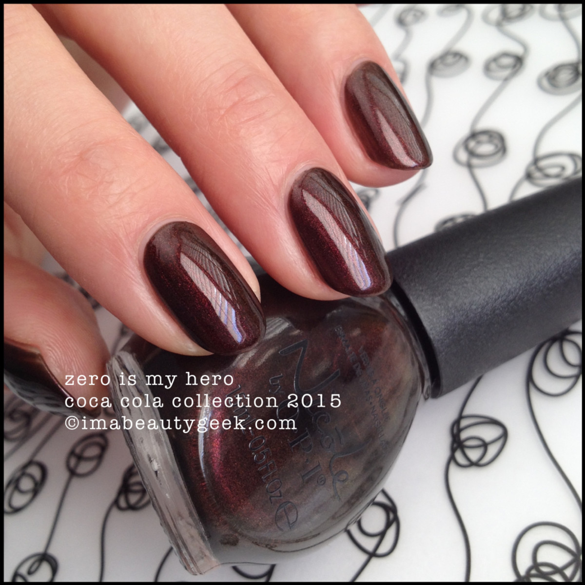 Nicole by OPI Zero Is My Hero Coca Cola Collection 2015