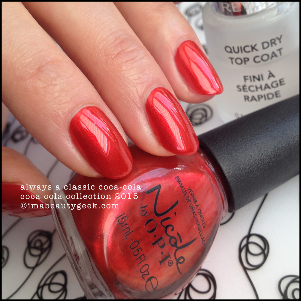 Nicole by OPI Always a Classic Coca Cola Collection 2015 Beautygeeks