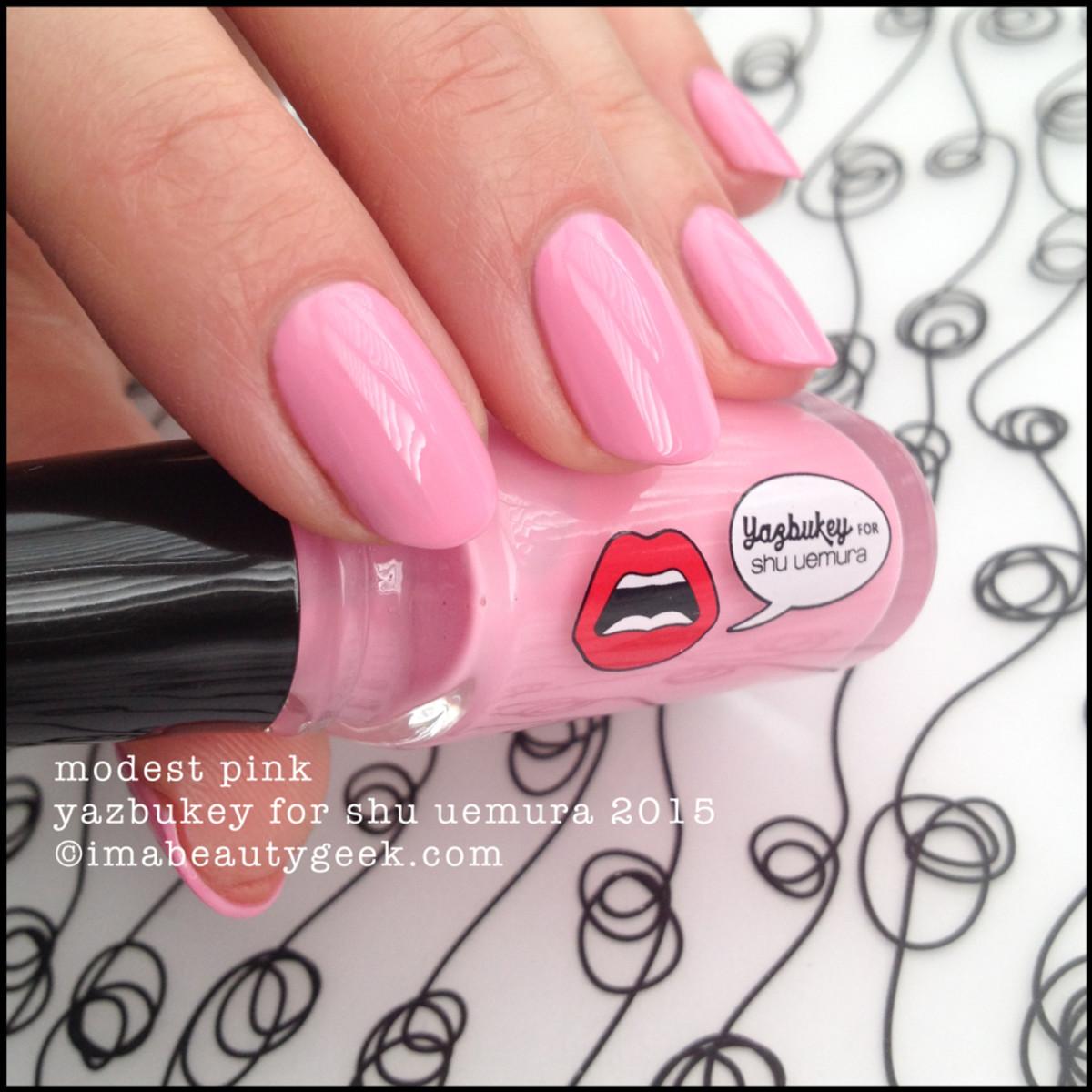 Yazbukey Polish for Shu Uemura Modest Pink 2015