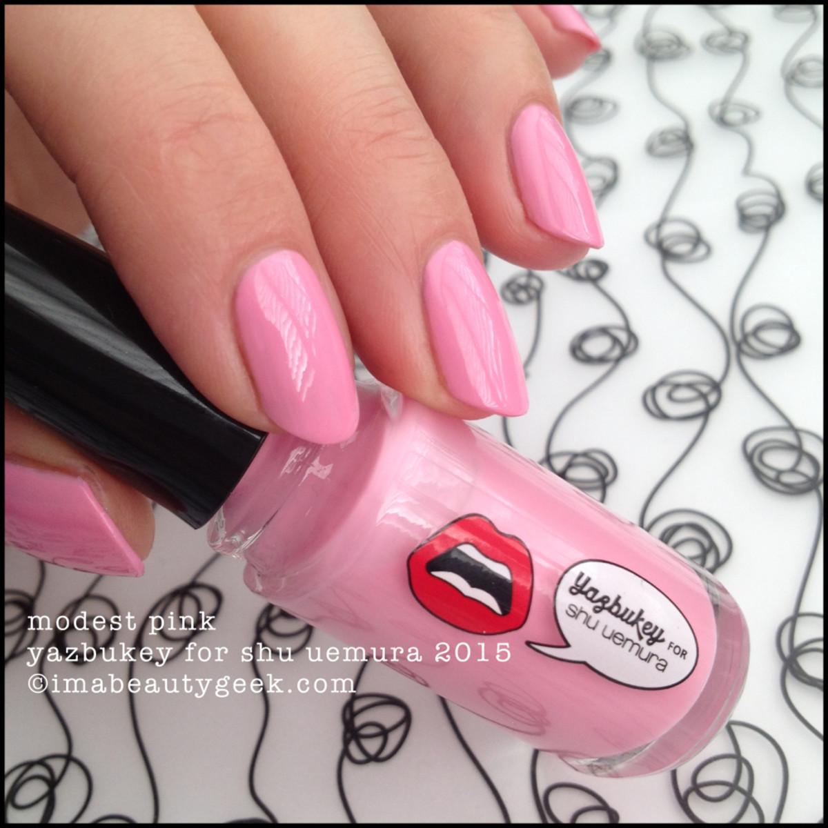 Yazbukey Nail for Shu Uemura Modest Pink 2015