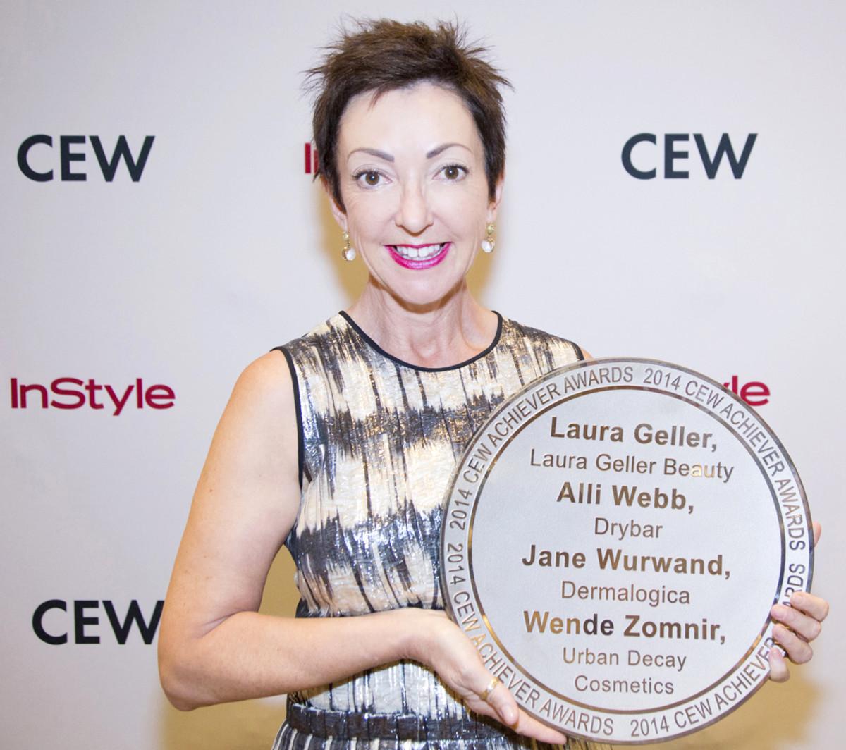 Dermalogica's Jane Wurwand, 2014 CEW Achiever Award reciptient