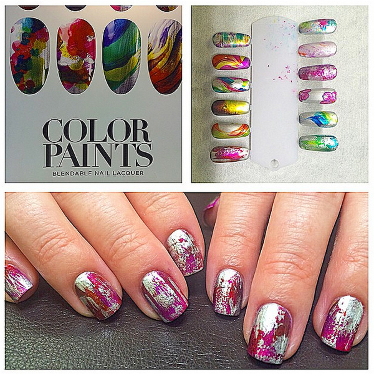OPI Color Paints_image via OPI global artist Danny Phung on Instagram