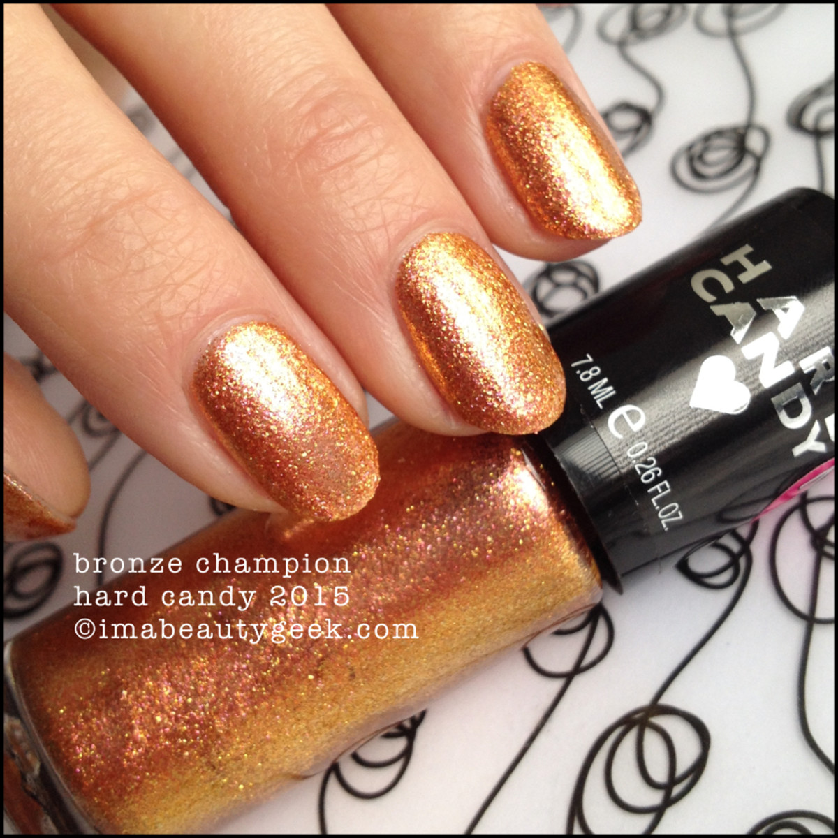 Hard Candy Nail Bronze Champion Spring 2015