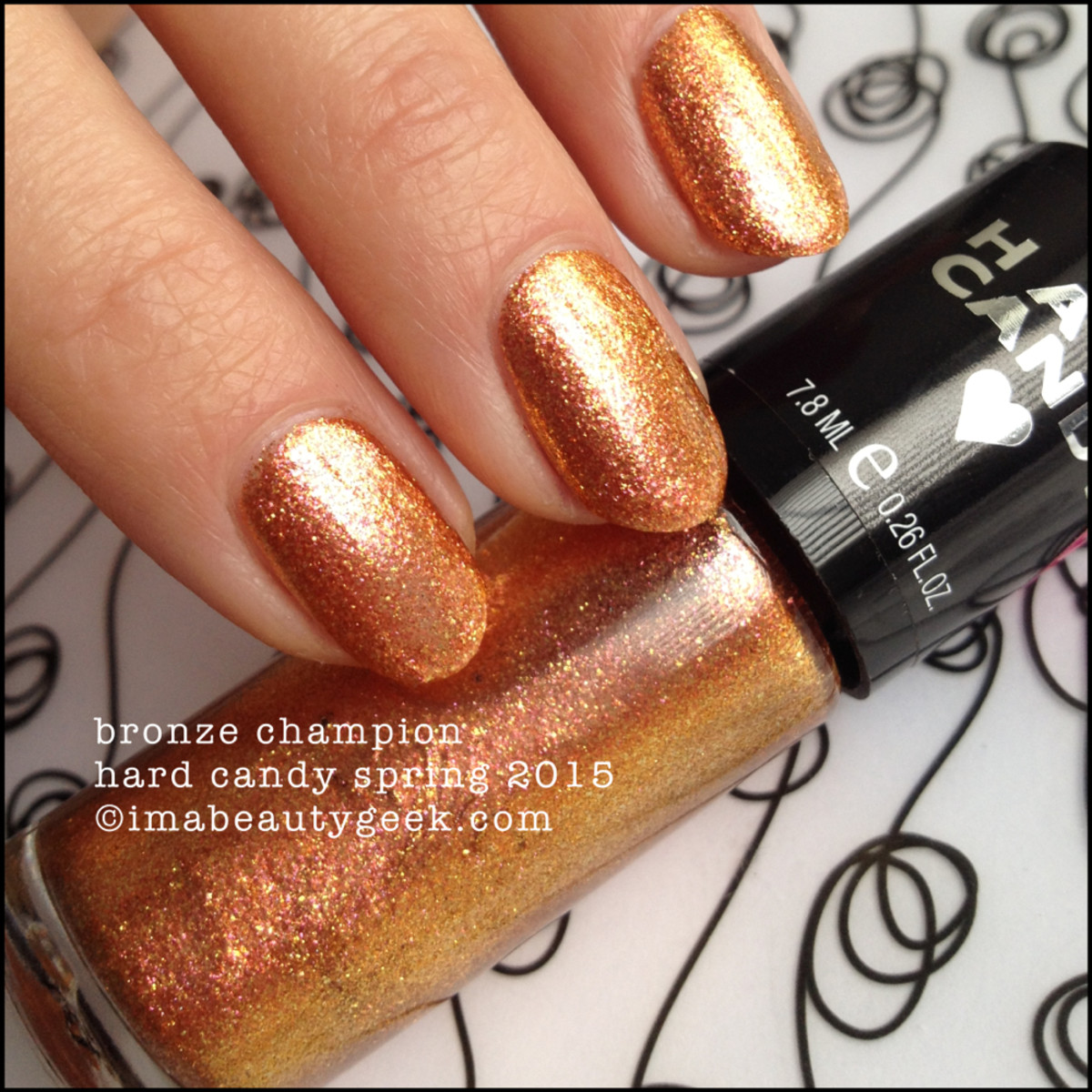 Hard Candy Nail Bronze Champion Spring 2015_2