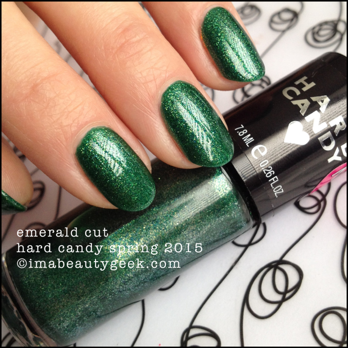 Hard Candy Nail Emerald Cut Spring 2015