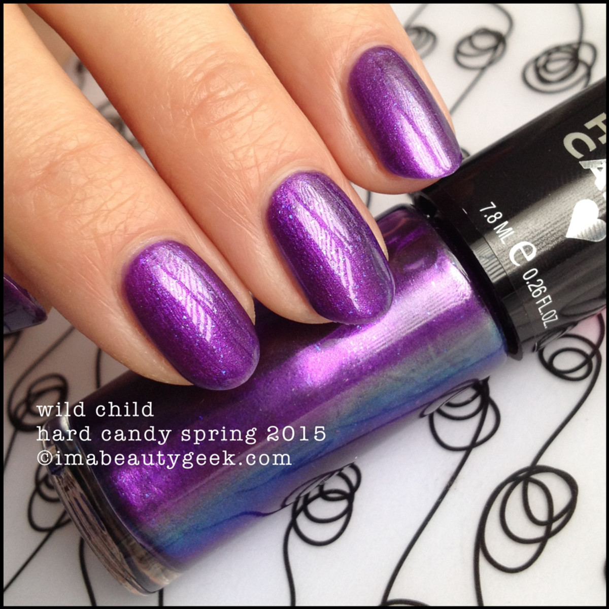Hard Candy Nail Wild Child Spring 2015