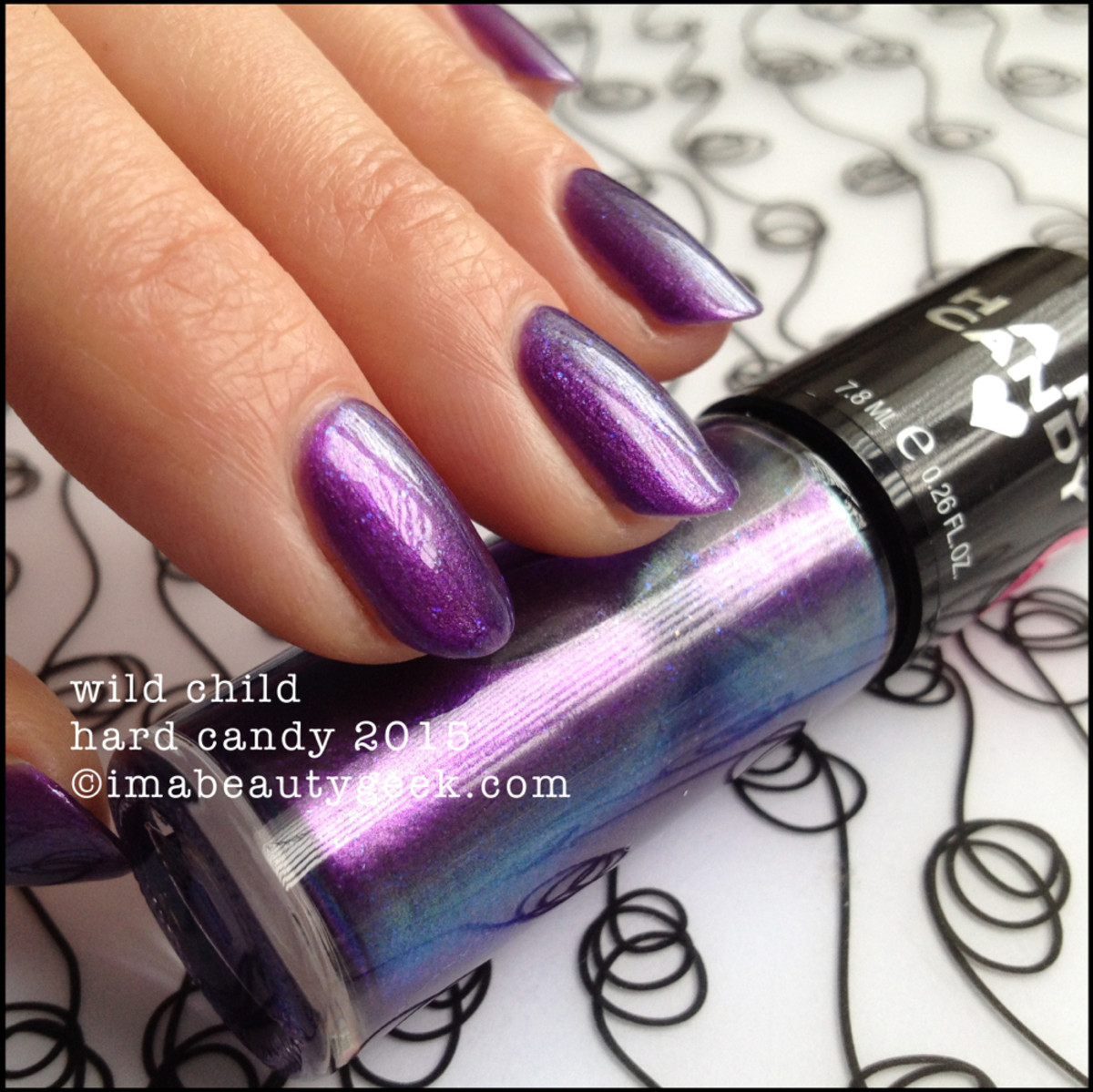 Hard Candy Nail Wild Child Duochrome Spring 2015