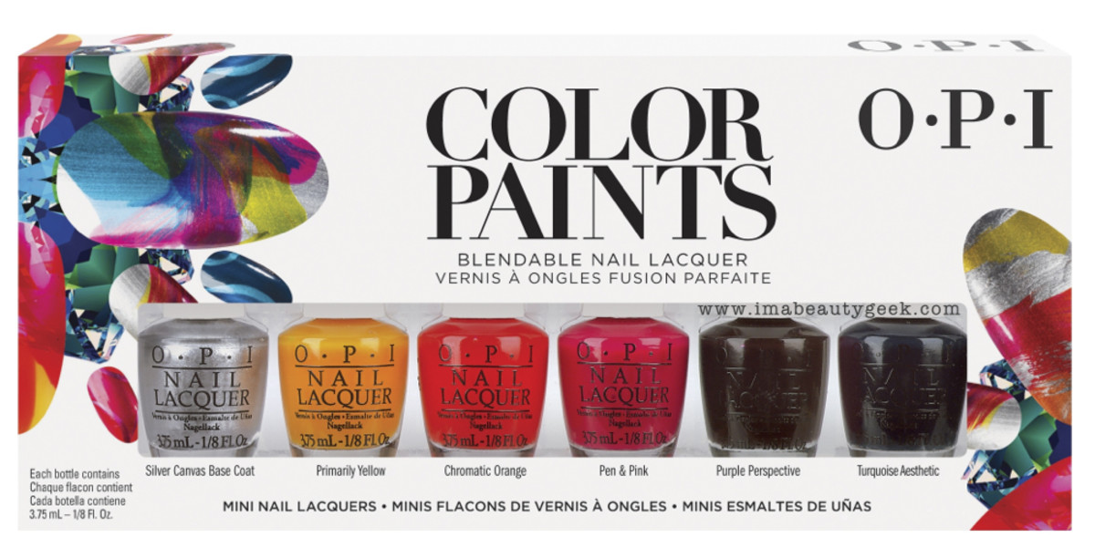 OPI ColorPaints OPI Color Paints Mini Set